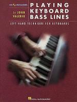 Playing Keyboard Bass Lines Sheet Music