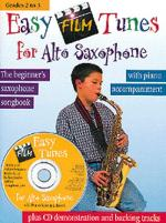 Easy Film Tunes For Alto Saxophone Sheet Music