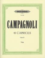 41 Caprices Op.22 for Solo Viola Sheet Music