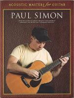 Paul Simon - Acoustic Masters for Guitar Sheet Music