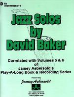 Jazz Solos - Eb Edition Sheet Music