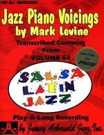 Jazz Piano Voicings - Volume 64 Salsa Latin Jazz Sheet Music