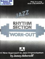 Volume 30B - Rhythm Section Workout - Bass & Drums Sheet Music