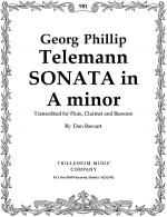 Trio-Sonata in A minor Sheet Music
