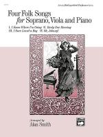 Four Folk Songs for Soprano, Viola and Piano Sheet Music