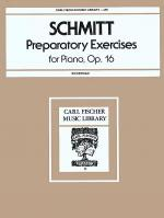 Preparatory Exercises for Piano, Op. 16 Sheet Music