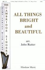 All Things Bright and Beautiful Sheet Music