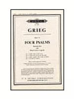 4 Psalms Op.74 Sheet Music