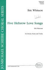 5 Hebrew Love Songs Sheet Music