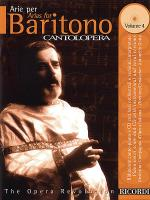 Cantolopera: Arias for Baritone - Volume 4 Sheet Music