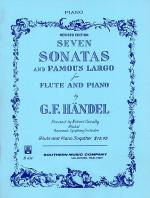 Seven (7) Sonatas and Famous Largo Sheet Music
