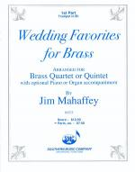 Wedding Favorites for Brass Sheet Music