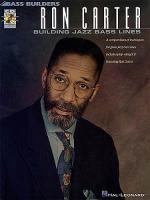 Ron Carter: Building Jazz Bass Lines Sheet Music