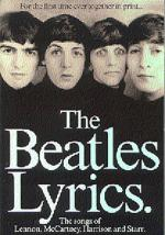 The Beatles Lyrics Sheet Music