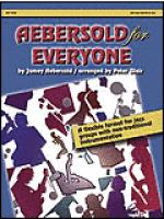 Aebersold for Everyone - Alto Sax/Baritone Sax Sheet Music