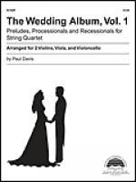 The Wedding Album, Volume 1 Sheet Music
