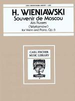 Souvenir de Moscou, Op. 6 Sheet Music