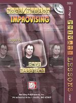 Rock/Fusion Improvising Book/CD Set Sheet Music