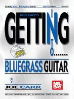 Getting Into Bluegrass Guitar Book/CD Set Sheet Music