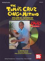 The Tom!s Cruz Conga Method, Volume III Book/DVD Set Sheet Music