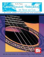 Contradanzas Habaneras for Guitar and Flute Sheet Music