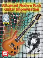 Advanced Modern Rock Guitar Improvisation Book/CD/DVD Set Sheet Music