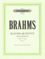 Klavier Quintett (Piano Quintet), Op. 34 in F Minor Sheet Music