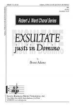 Exsultate Justi in Domino Sheet Music