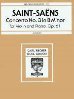 Concerto No. 3 in B Minor, Op. 61 Sheet Music
