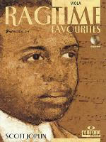 Ragtime Favourites by Scott Joplin - Viola (Book/CD Package) Sheet Music