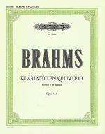Klarinetten Quintett (Clarinet Quintet) No.3, Op. 115 in B Minor Sheet Music