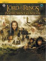 The Lord of the Rings - Instrumental Solos (Horn in F) Sheet Music