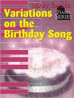 Variations On the Birthday Song Sheet Music