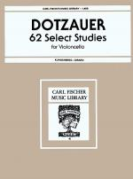 Sixty-Two Selected Studies Sheet Music
