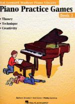 Hal Leonard Student Piano Library: Piano Practice Games Book 3 Sheet Music