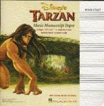 Disney's Tarzan: Music Manuscript Paper Sheet Music