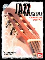 Jazz Etudes & Exercises for Classical Guitar Book/CD Set Sheet Music