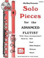 Solo Pieces for the Advanced Flutist Book/CD Set Sheet Music