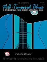 Well-Tempered Blues Book/CD Set Sheet Music