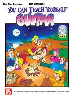 You Can Teach Yourself Guitar Book/CD/DVD Set Sheet Music