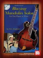 Blazing Mandolin Solos Book/CD Set Sheet Music