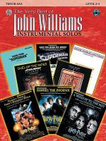 The Very Best of John Williams - Tenor Sax (Book/CD) Sheet Music