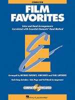 Film Favorites - Conductor/Accompaniment CD Sheet Music