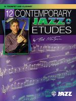 12 Contemporary Jazz Etudes Sheet Music