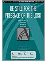 Be Still for the Presence of the Lord (Anthem) Sheet Music