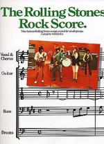 Rock Score Sheet Music
