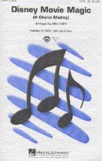 Disney Movie Magic (SATB) Sheet Music