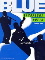 Blue Saxophone Duets Sheet Music