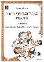 Venezuelan Pieces, 4, Guitar Sheet Music