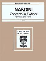 Concerto in E Minor Sheet Music